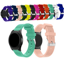 Newest silicone sport watch band strap for 20mm watch samsung gear s2 sport huawei watch 2 Huami Amazfit Bip Smart Watch