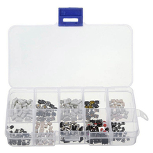 250 Tactile Pushbutton Switches Instant Tact Classification Kit