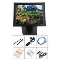 17 дюймов Сенсорный экран светодио дный монитор POS с технологией TFT, ЖКД, сенсорной панелью 1024X768 Розничная ресторан бар Дисплей USB Интерфейс С
