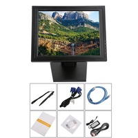 17 Inch Touch Screen LED Monitor POS TFT LCD TouchScreen 1024 X 768 Retail Restaurant Bar Display USB Interface US Plug