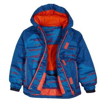 7058ac20d Nuevo otoño e invierno al aire libre a prueba de viento a prueba de agua caliente  niños y niñas de algodón acolchado senderismo chaqueta de esquí traje de ...