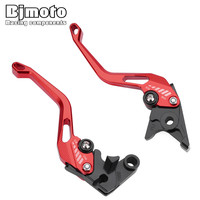 BJMOTO Motorbike Brake Clutch Levers For Honda CB300R 2019 Z125 monkey bike 18 19 CBR250R 11 13 GROM/MSX125 14 18 CX500 CB650