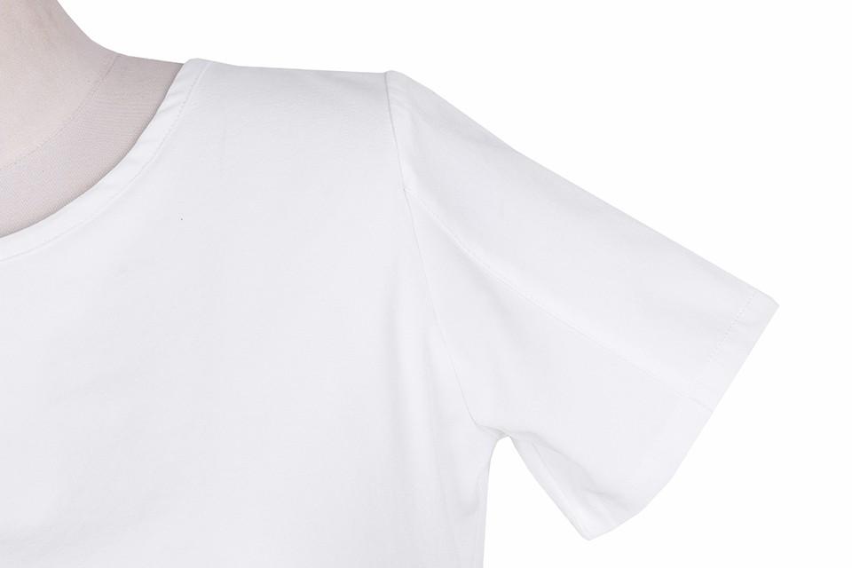HTB1 ByrNpXXXXXnXpXXq6xXFXXX5 - Short Sleeve White Chiffon Blouses Womens Clothing Summer