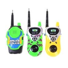 Kids Walkie Talkies Two Way Radio Camouflage Walkie Talkie Portable Intercom Children