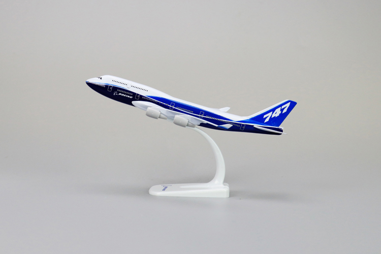 20cm Prototype Boeing 747 400 Airplane Aircraft Model B747