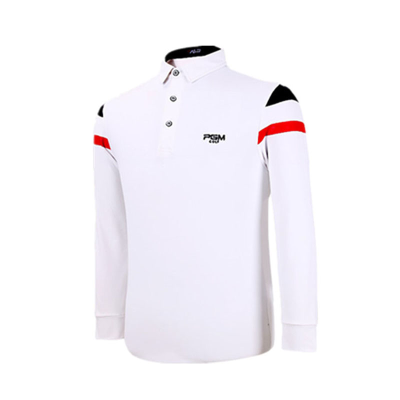 PGM Brand Golf Sport Polo Shirt Spring Autumn Long Sleeve Turn-down Collar Mens Sport Tops Outerwear Running Tshirts