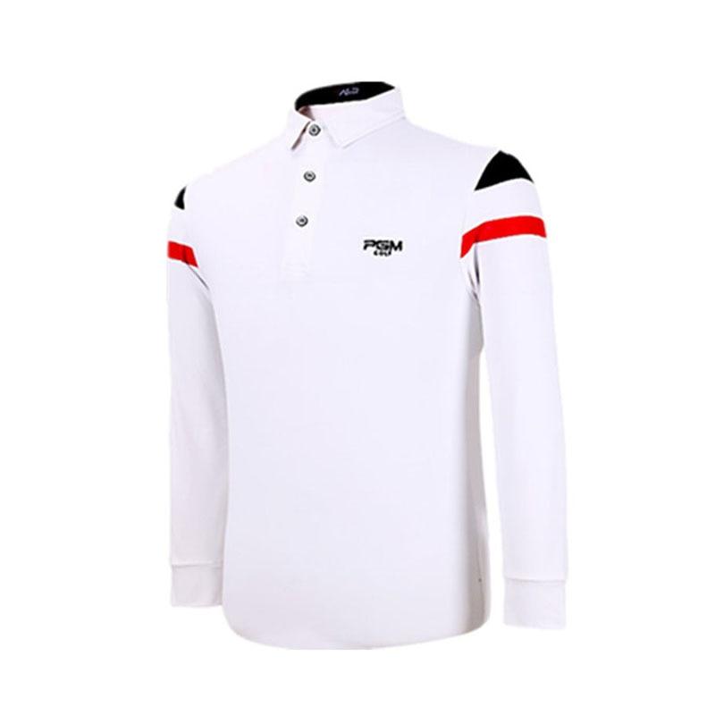 PGM Brand Golf Sport Polo Shirt Spring Autumn Long Sleeve Turn-down Collar Mens Sport Tops Outerwear Running Tshirts