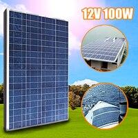 KINCO 100 Вт 12 В поликристаллического Панели Солнечные DIY высокое преобразования солнечных батарей + 2 Клипы MC4 кабель для автомобиля Батарея тел