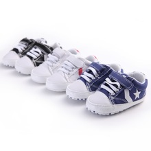 Fashion Brand Baby Boy Casual Shoes Baby Sneakers Baby First Walker Sport Shoes Star Print