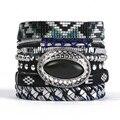 2016 New Bohemia Summer HIPANEME Bracelets DIY Charm Bracelet Magnetized Brazilian Glamour Jewelry for Women Men Gifts HIP241
