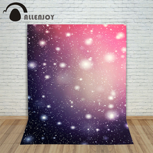Allenjoy photo background spots pink purple stars snow shiny glitter baby backgrounds for photo studio photocall