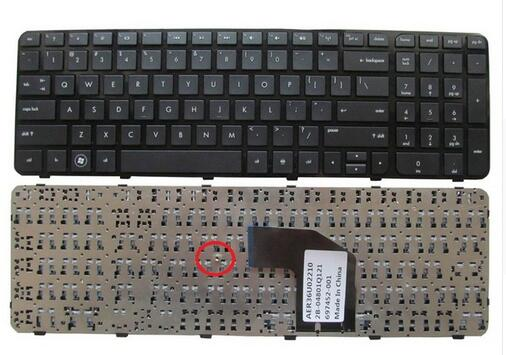 US Keyboard for HP Pavilion G6 G6-2000 G6Z-2000 G6-2000 g6-2100 G6-2163sr G6Z-2000 AER36Q02310 R36 English Black WITH FRAME for hp pavilion g6 1d62nr