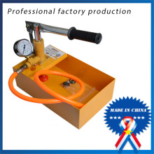 Manual test water pipe PPR pipe test press machine manual pressure testing pump 25kg
