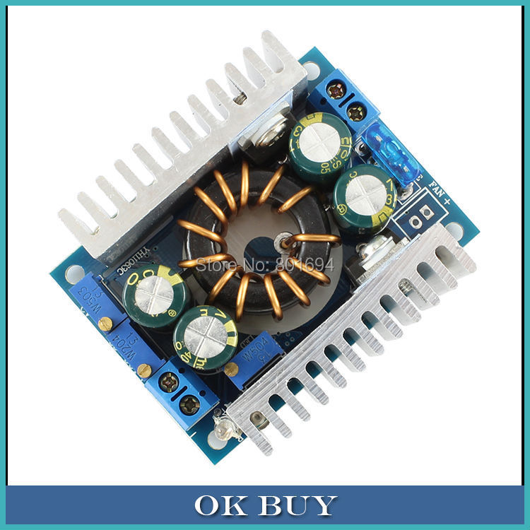 цена на 150W DC/DC Non-isolated Step-up Module Constant Voltage Constant Current 10-32V To 10V-46V 12V/24V/36V 8A Regulator