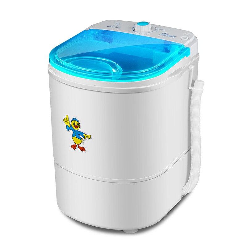 ミニ洗濯機ポータブル洗浄ベビー服ワッシャーワッシャーとドライヤー機小洗濯機 -