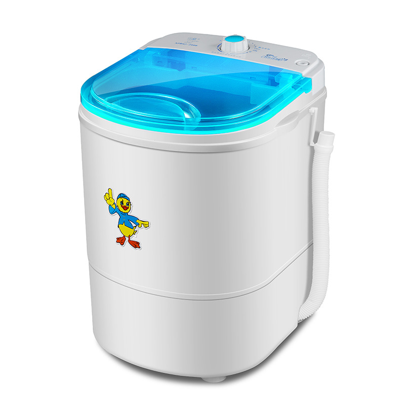 Bescheiden Mini Washer Maschine Tragbare Waschen Baby Kleidung Scheibe Scheibe Und Trockner Maschine Kleine Wäsche Maschine GläNzend