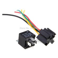 100pcs LOT 12V Volt SPDT Relay Wire Socket Car Automotive Alarm 40 AMP 30 40A_220x220 popular 12v spdt relay buy cheap 12v spdt relay lots from china 40 amp automotive relay wiring diagram at edmiracle.co