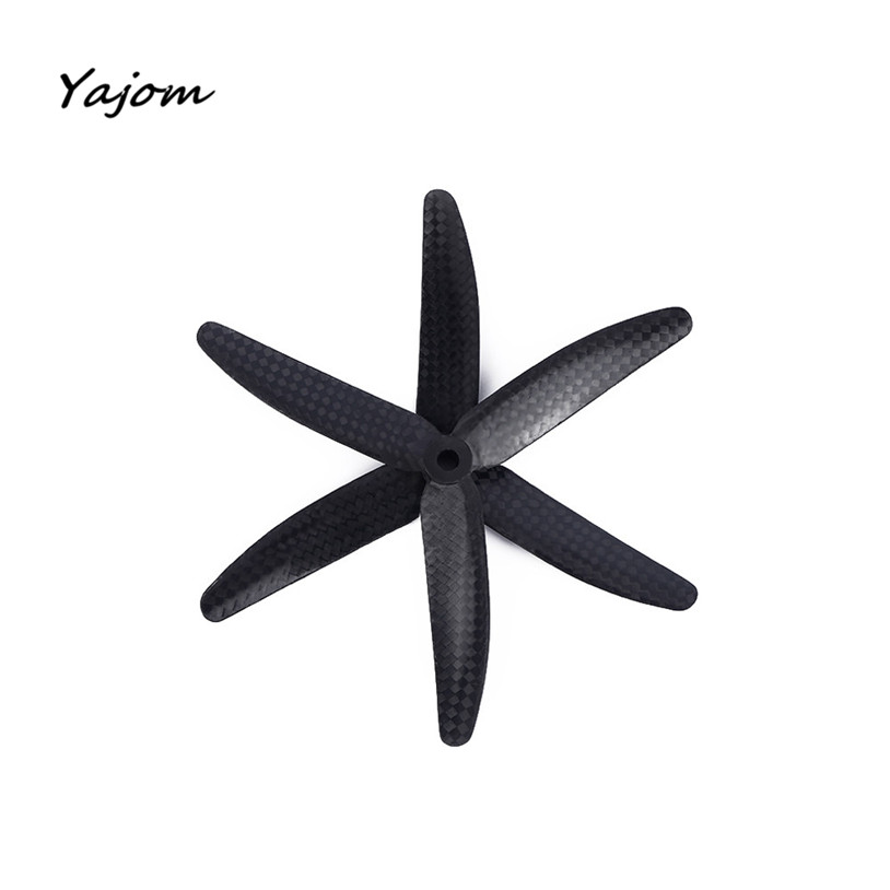 Free for shipping 1pair 5030 Carbon Fiber 3-blade CW CCW Propeller Prop for RC Mini Multicopter Brand New High Quality May 9