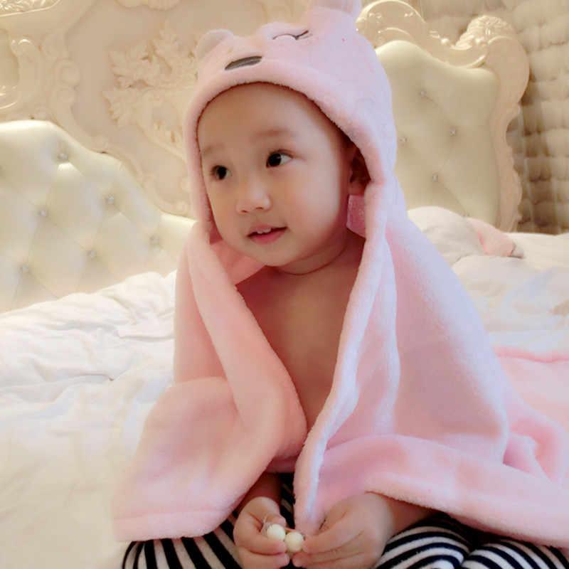 Soft Baby Blankets Baby Kids Bathing Towels Animal Shape Hooded Towel  Lovely Baby Bath Towel Baby Swaddle Wrap Hooded Bathrobe