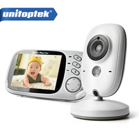 3 2 Inch 2 4GHz Wireless Video Color Baby Monitor High Resolution Baby Nanny Security Camera