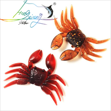 Lure Soft Body Small Crab Simulation Software Road Sub-bait Sea Fishing Gear Accessories Bait