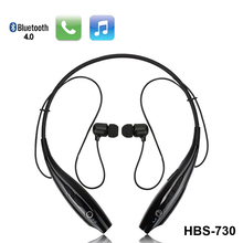 HBS730 Bluetooth Headset Headphones Earphone With Microphone & Retractable Sweatband For Android/IOS Smartphone Xiaomi iphone