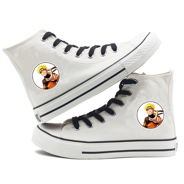 NARUTO THEMED HIGH TOP SHOES (6 VARIAN)