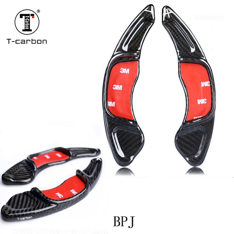 100% real <font><b>carbon</b></font> fiber For Volkswagen CC <font><b>Golf</b></font> <font><b>7</b></font> Sagitar New Scirocco lengthened <font><b>carbon</b></font> fiber shifting shift <font><b>steering</b></font> <font><b>wheel</b></font> image