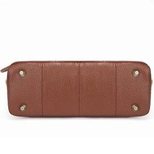 Image 5 - 2020 Genuine Leather Women Messenger Bags Female Small Shoulder Handbags Vintage crossbody Bag For Ladies bolsa feminina MM2302