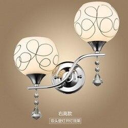 Nowoczesne proste kinkiet sypialnia lampka nocna salon korytarz balkon latarnia fabryka hurtownie kinkiet