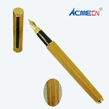 ACMECN Cute Fountain Pen Office & Business Writing Instrument with Converter Natural Eco-friendly HandMade Bamboo Liquid ink