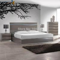 O envio gratuito de 200 cm * 83 cm adesivo de parede galhos de árvores zooyoo8003 arte da parede sala de estar em casa decorações da parede do vinil decalques