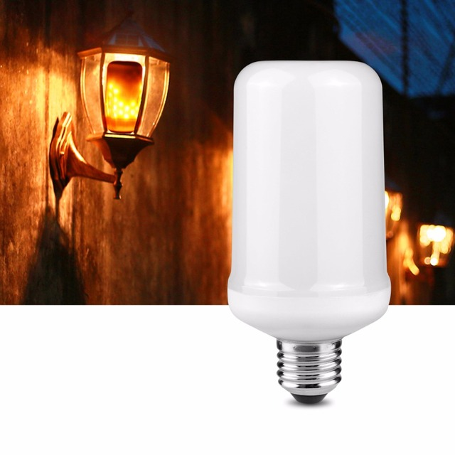 E27 E26 Corn LED Bulb Flame Effect Fire Light Bulbs Flickering Burning Emulation flame Light Outdoor  sc 1 st  AliExpress.com & E27 E26 Corn LED Bulb Flame Effect Fire Light Bulbs Flickering ...