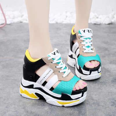 2019 Summer New Women Sneaker Sandals