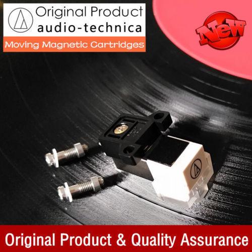Audio Technica MM Moving Magnet Cartridge LP Phono Turntable Phonograph Stylus