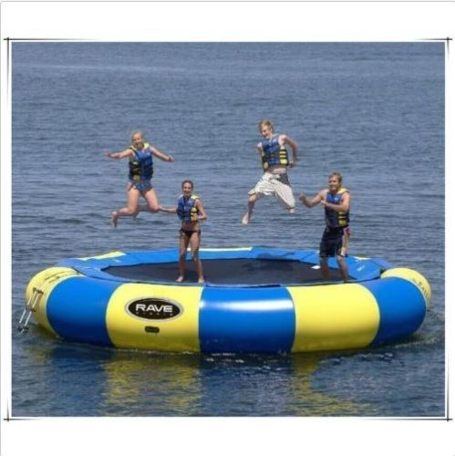 Trampoline Parts Center Coupon Code: 3 5M Diameter Inflatable Water Trampoline Bounce Swim
