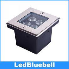 4 Вт LED Подземный Свет Открытый Сад Двор Прожектор Спот лампа 12 В