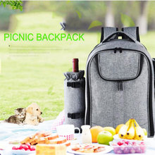 25L Outdoor Picnic Backpack Men Camping Cooler Bag Refrigerator Waterproof Nylon Isotherma For Women Food Box