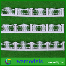 LG100-03 1m long ABS plastic model garden hedge railing fence for sandy table materials