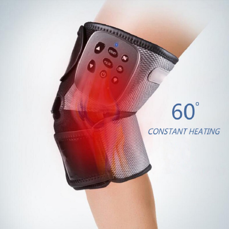 Knee Massager Heating Vibration Knee Strap Office Home Meridian Joint Health Physical Therapy instrument leg Pain Relief Therapy joint pain knee pain relief laser physical therapy machine