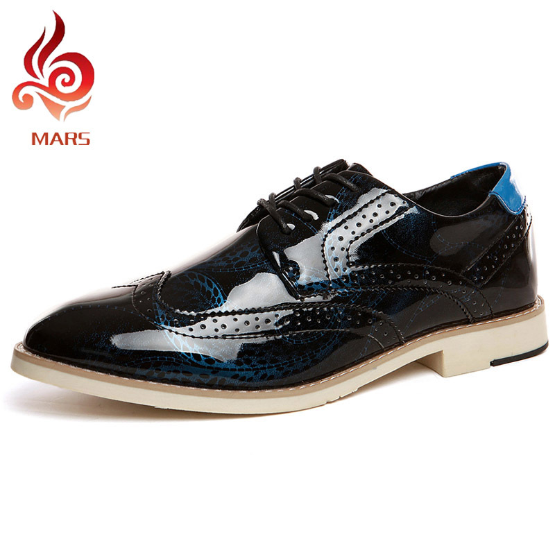 ФОТО 2016 New Design Men Shoes Business Office Brogue Shoes Men Vintage Carving Wedding Shoes Pointed Toe Oxfords Size:39-44 91373