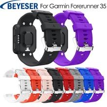 цена на Sport Replacement Wristband Watch band For Garmin Forerunner 35 Wrist strap Soft Bands Strap For Garmin Forerunner 35 Watchband