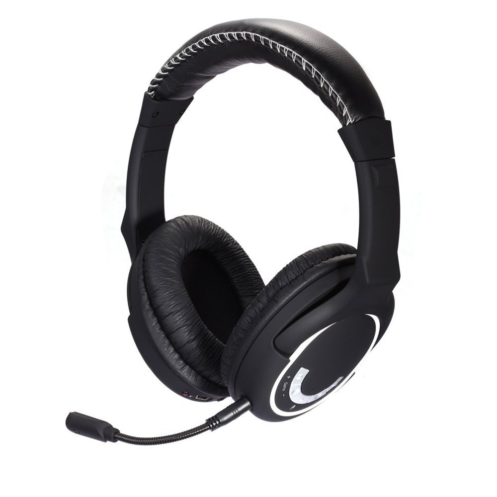 ФОТО HUHD HW-390M 2.4Ghz Wireless Gaming Headset Stereo Sound for PS4, PS3, Xbox 360 and PC Detachable Microphone Noise Cancelling