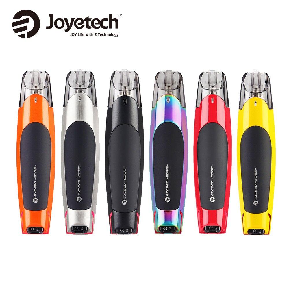 Joyetech Original dépasse le Kit de démarrage de bord 25W Max sortie e-cig Kit de Vape wi/650 mAh batterie et cartouche 2ml et toute nouvelle bobine EX MTL
