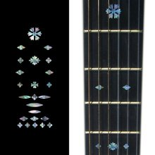 Fretboard Markers Inlay Sticker Decals for Guitar & Bass – Vintage Snowflakes