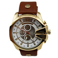 Homens Reloj Luxo Couro Strap Big Dial Sports Relógio de Quartzo Japão Movimento de Negócios Curren 8176 relógio de Pulso Relogio masculino