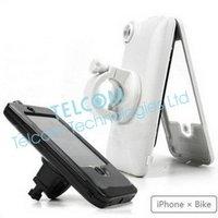 כיסוי מקרה עמיד למים עבור IPhone 4 4S סופר נוח לעלות על אופניים ואופנוע לניווט או להקליט וידאו