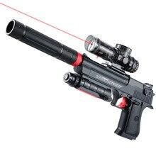 Desert Eagle Water Paintball Gun Automatic Gun Airgun Soft Bullet Gun Paintball Pistol Toy Gun for Outdoor Battle Free Shipping