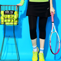 Tennis skirt & pants set tennis Skorts women badminton shorts quick drying sports skirt female gym leggings fitness Running wear