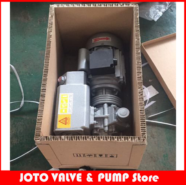 US $257 53 9% OFF|XD 020 0 75kw 220v 50hz 1/2HP 12CFM china vacuum pump  single stage rotary vane vacuum pump-in Pumps from Home Improvement on